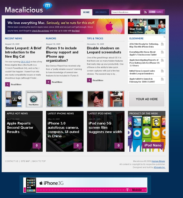 Macalicious - Latest Apple News, Mac News, and iPod News