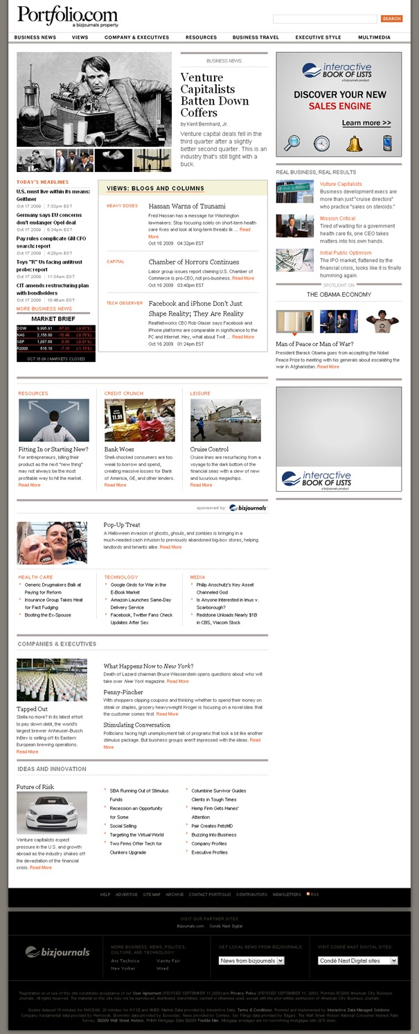 Portfolio.com- News & Views on Business and Entrepreneurship - Portfolio.com