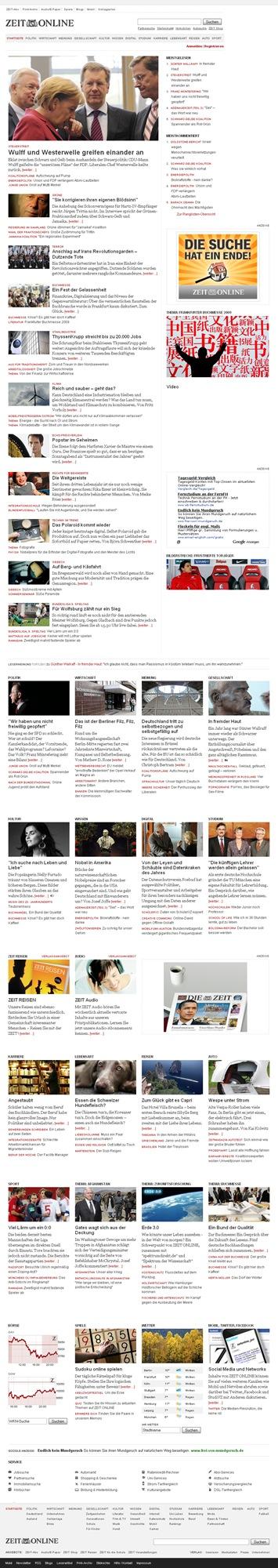 ZEIT ONLINE  Nachrichten, Hintergründe und Debatten