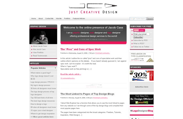Just Creative Design  Graphic Designer, Logo Designer