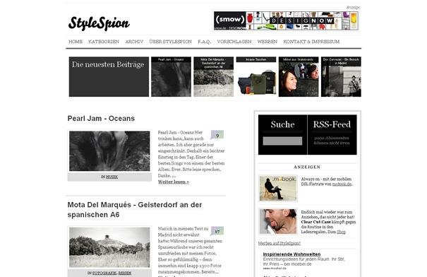 StyleSpion - Lifestyle Magazin, Design, Inneneinrichtung, Wohndesign, Möbel, Einrichtungstipps und Musik Blog