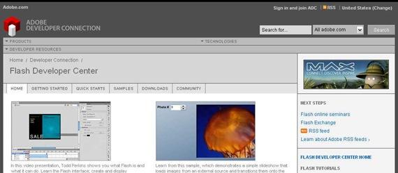 Adobe - Flash Developer Center
