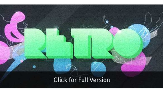 Create an Abstract Retro-Pop Wallpaper - Tutorial9 - Tutorial Bliss.
