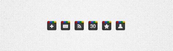 Kostenlose Google+ Icons