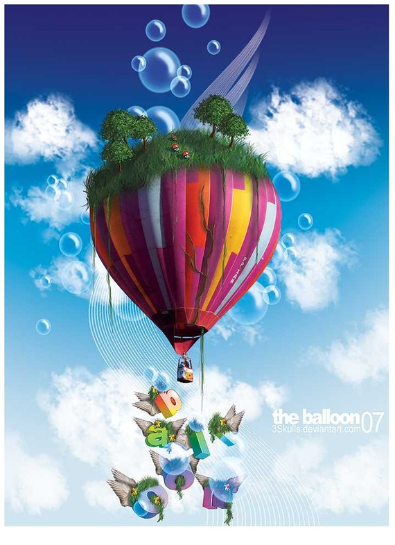 The_Balloon_by_3Skulls.png (PNG-Grafik, 700x950 Pixel)
