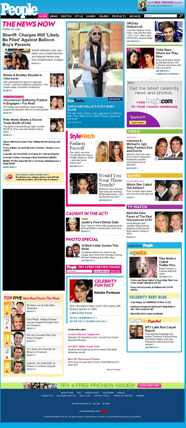 People.com - The #1 Celebrity Site for breaking news, celebrity pictures and star style