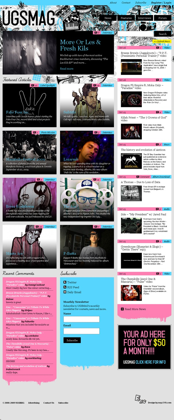 UGSMAG – Canada's Independent Hip Hop Magazine