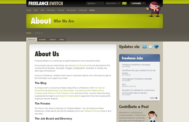About Us – FreelanceSwitch