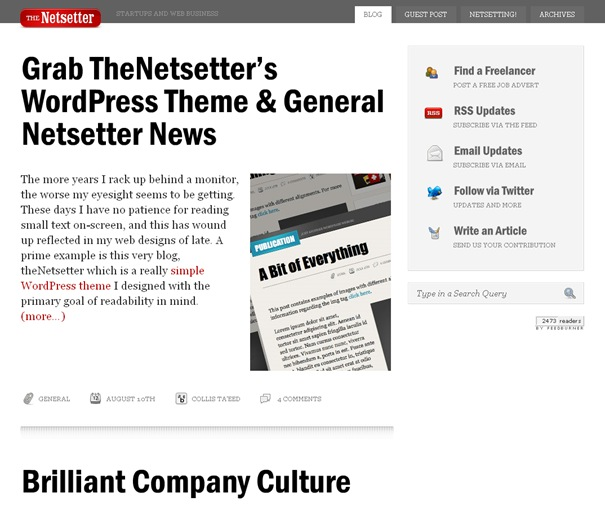 The Netsetter