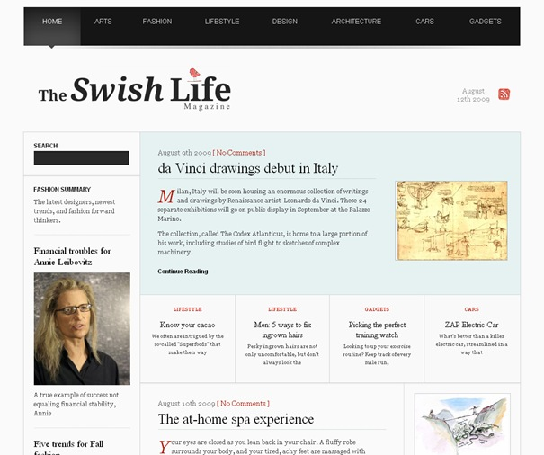 The Swish Life Magazine