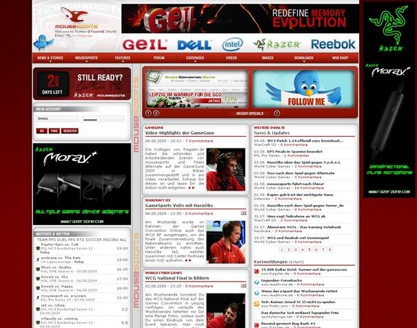 News- 05.08.2009 - mousesports - deutsch