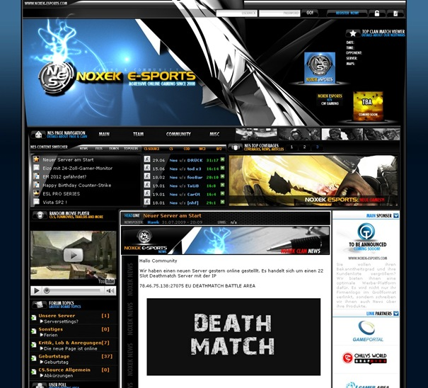 NoXeK E-Sports  Community & Gaming