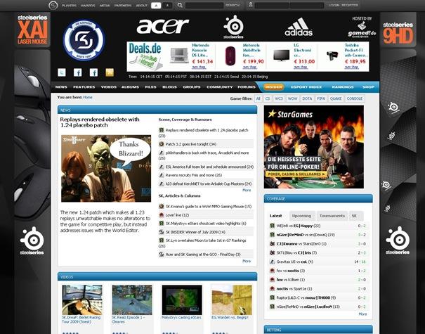 SK Gaming - Esports, Professional Gaming, Counter-Strike, Warcraft III, World of Warcraft, FIFA, DotA, Starcraft, Quake, Console