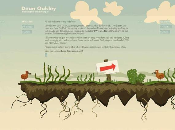 Dean Oakley - Freelance web designer, Gold Coast, Brisbane