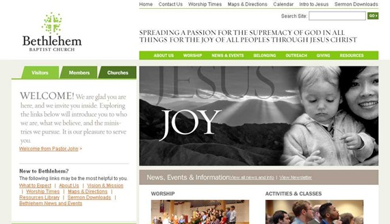 Bethlehem Baptist Church - Homepage