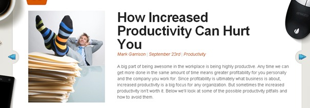 How Increased Productivity Can Hurt You – WorkAwesome