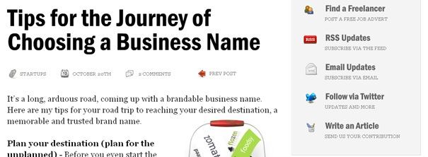 Tips for the Journey of Choosing a Business Name – The Netsetter