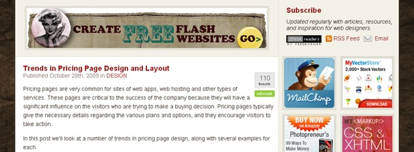 Trends in Pricing Page Design and Layout  Vandelay Design Blog