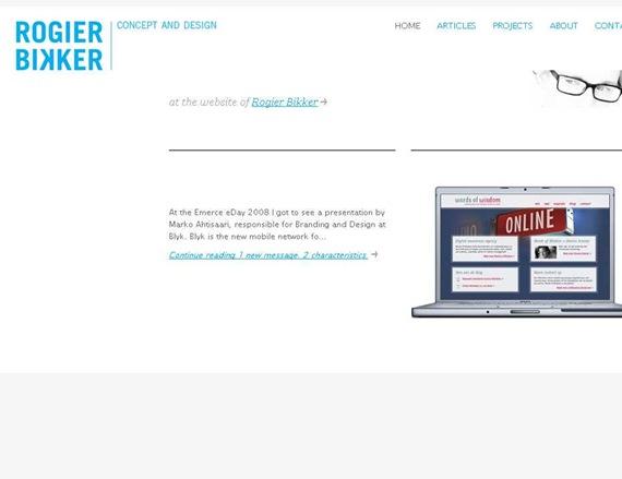 Rogier Bikker - Concept and Design