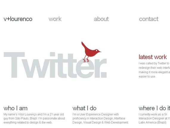 Vitor Lourenco — User Experience Designer (Interaction - Interface - Visual)