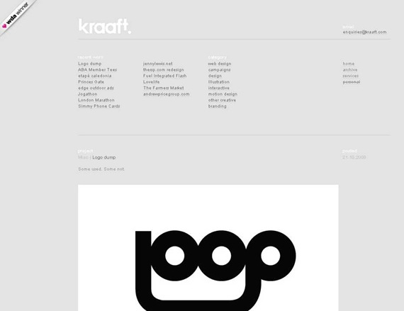 kraaft web design & creative consultancy services