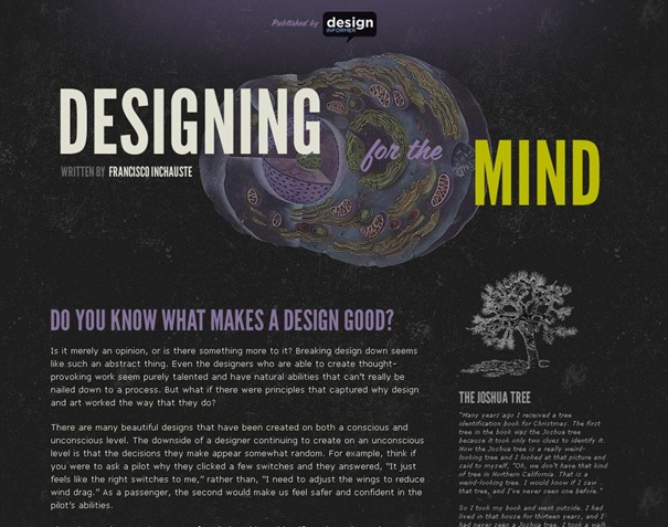 Designing for the Mind